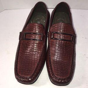 NWOT Stacey Adams Snake Skin Men Shoes 11
